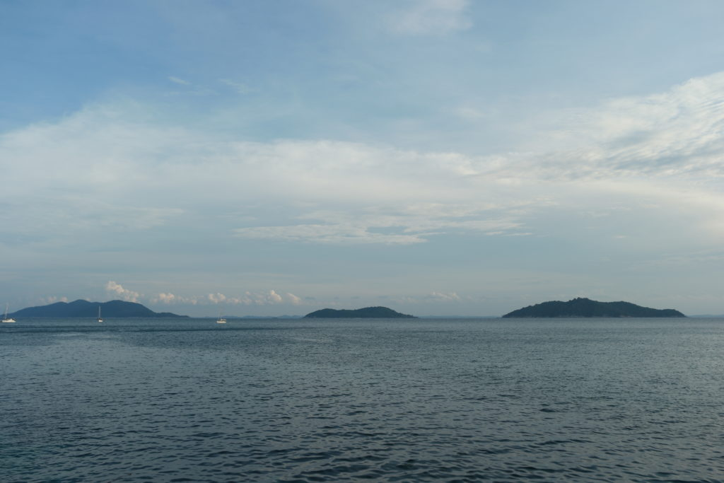 View of PulauBesar, Pulau Tengah and Pulau Hujung from the Island Walk Trail