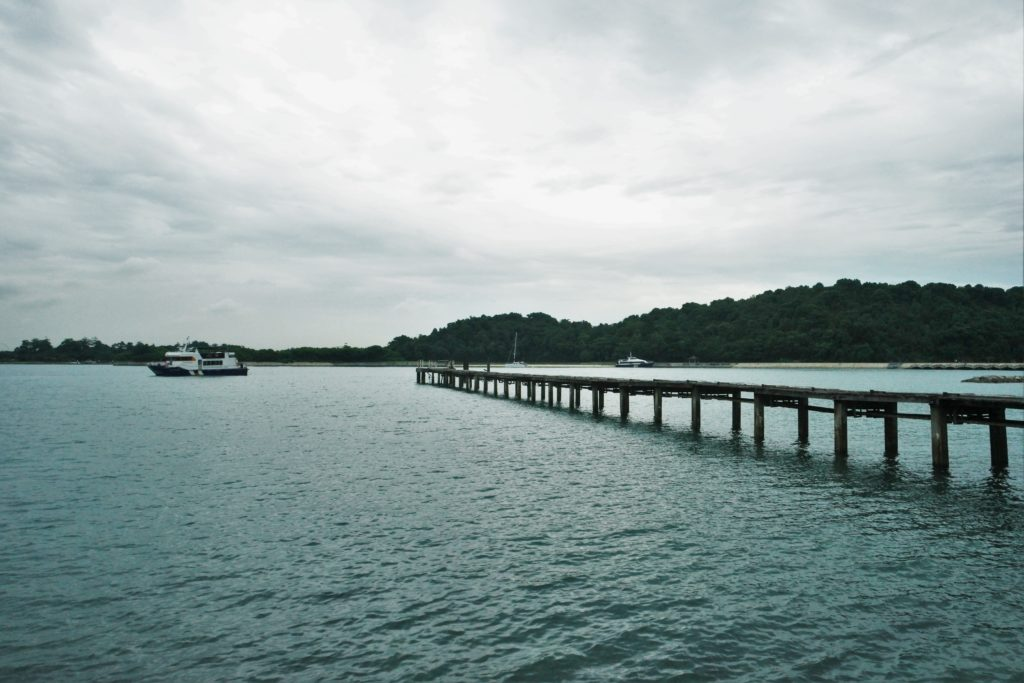 An abandoned jetty