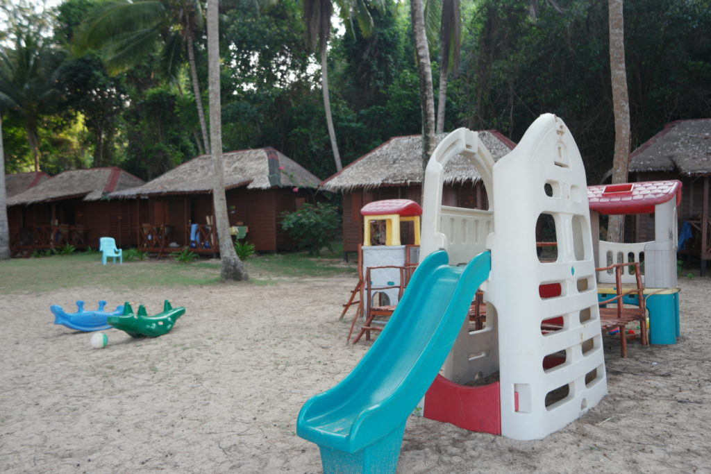 Mini playground for the kids